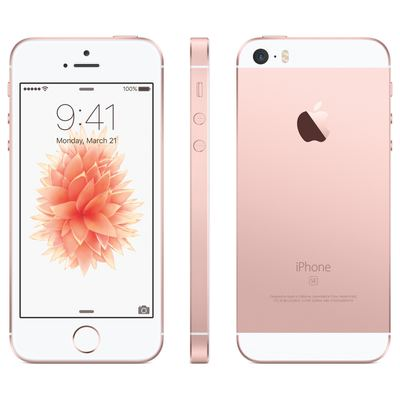 Apple iPhone SE - 64GB - Roségold - 1.Wahl