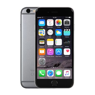 Apple iPhone 6 - 64GB - Spacegrau - 2. Wahl