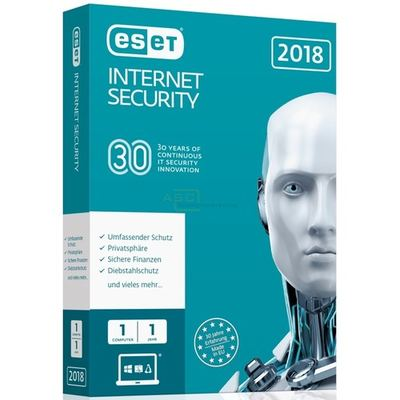 ESET Internet Security 2018 Edition - 1User