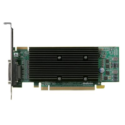 Matrox M9140 512 MB DDR2 PCIe x16 - 4x DVI (inkl.Adapter) - Low Pro