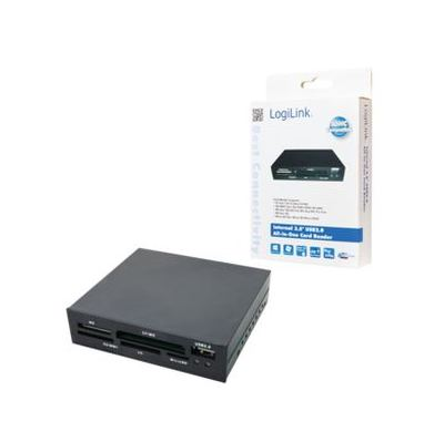"LogiLink® Interner 3,5"" USB 2.0 All-in-One Card Reader (CR0012)"