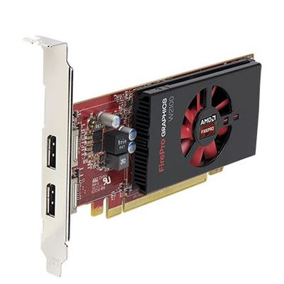 AMD FirePro W2100 Grafikkarte - Dual Display Port