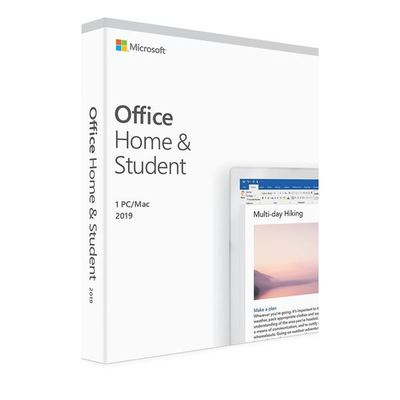 Microsoft Office 2019 Home & Student: 1PC/Mac (WIN 10)