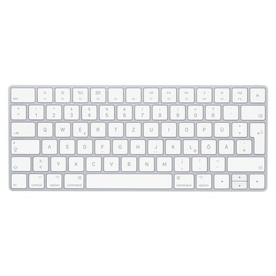 Apple Magic Keyboard MLA22D/A, Bluetooth Tastatur Deutsch