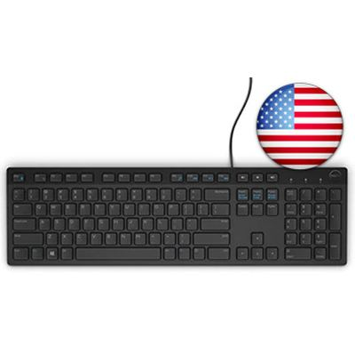 Dell KB216 Multimedia USB-Tastatur - US Layout