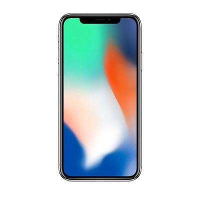 Apple iPhone X - Japan Version 64GB - Silber - Normale Gebrauchsspuren