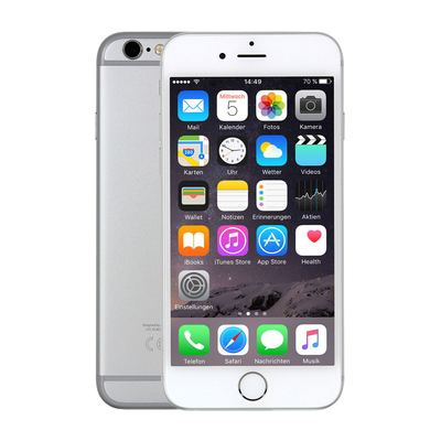 Apple iPhone 6s 64GB - Silber - 1. Wahl