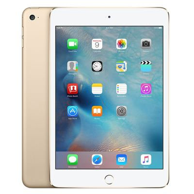 Apple iPad Mini 4 - Ende 2015 16GB - Wifi & Cell - Gold - Normale Gebrauchsspuren