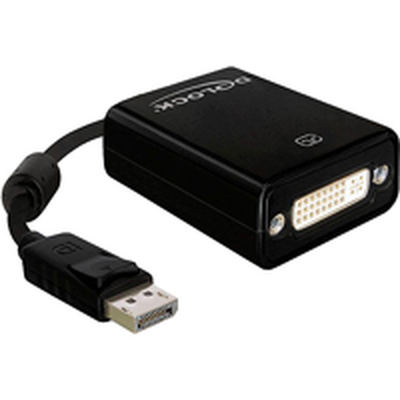 DeLOCK DisplayPort male auf DVI 24+5 female Adapter