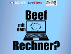 Beef mit dem Rechner