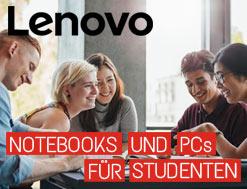 Lenovo - Notebooks für Studenten